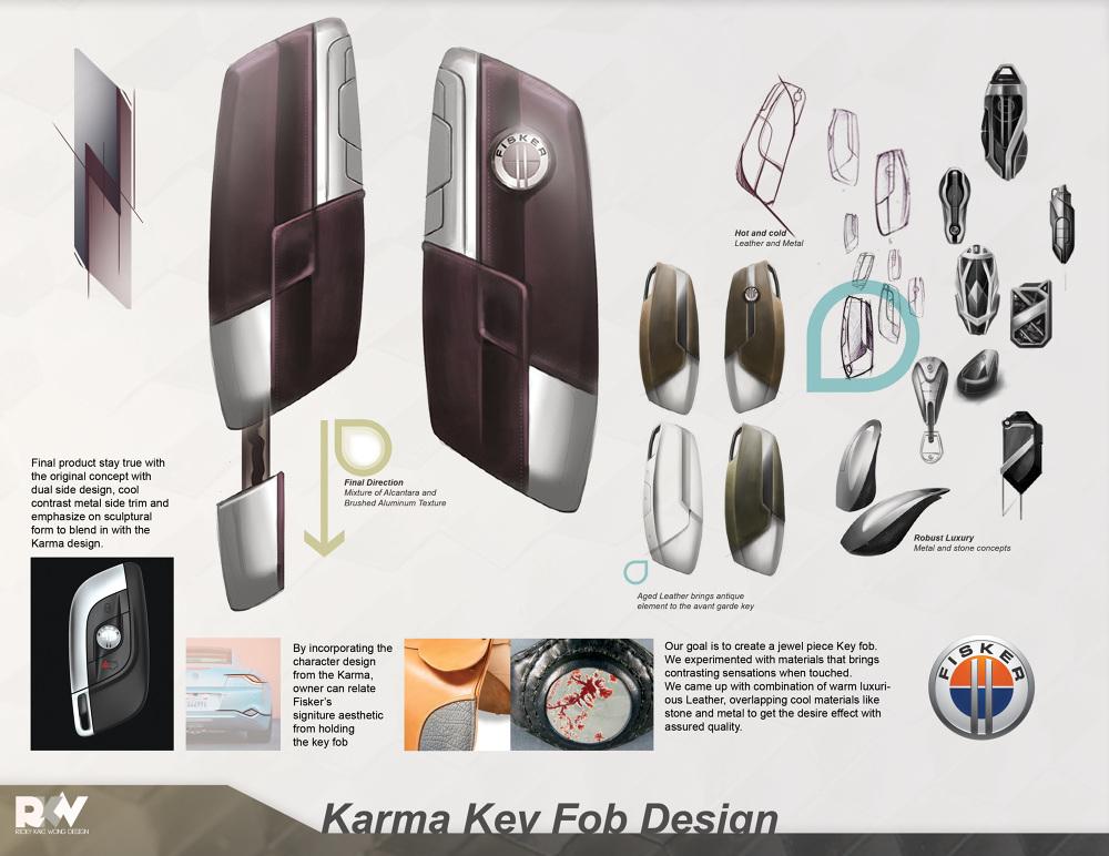 2010 Fisker Karma Interior Design Color Material Finish